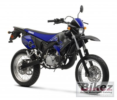2008 yamaha dt50x specifications and pictures. Black Bedroom Furniture Sets. Home Design Ideas