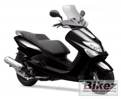 2008 Yamaha Majesty 125 specifications and pictures