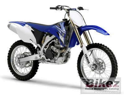 2008 Yamaha YZ450F specifications and pictures