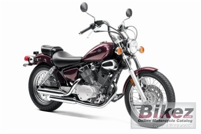 2009 Yamaha V Star 250 photo