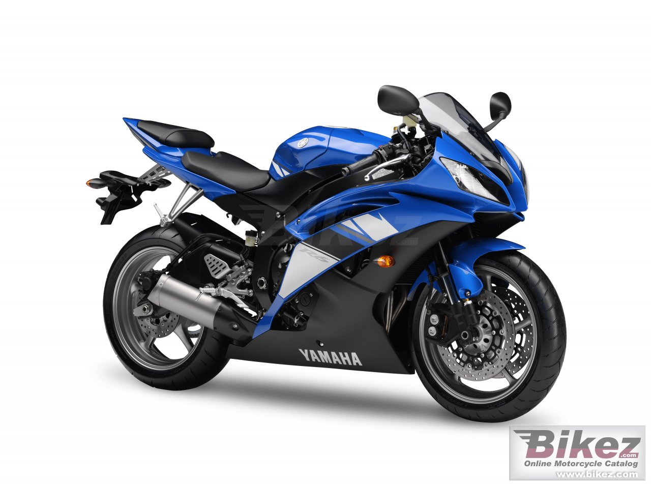 Big Yamaha yzf-r6 picture and wallpaper from Bikez.com