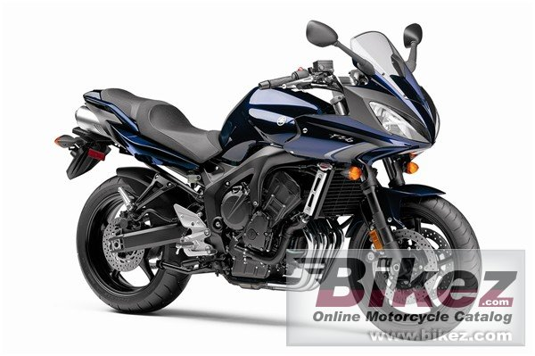 Big Yamaha fz6 picture and wallpaper from Bikez.com