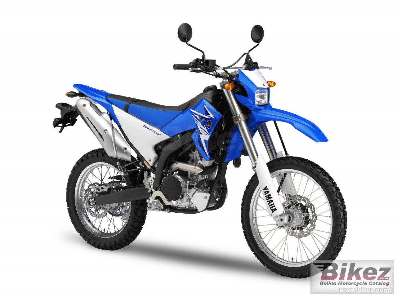 Big Yamaha wr250r picture and wallpaper from Bikez.com
