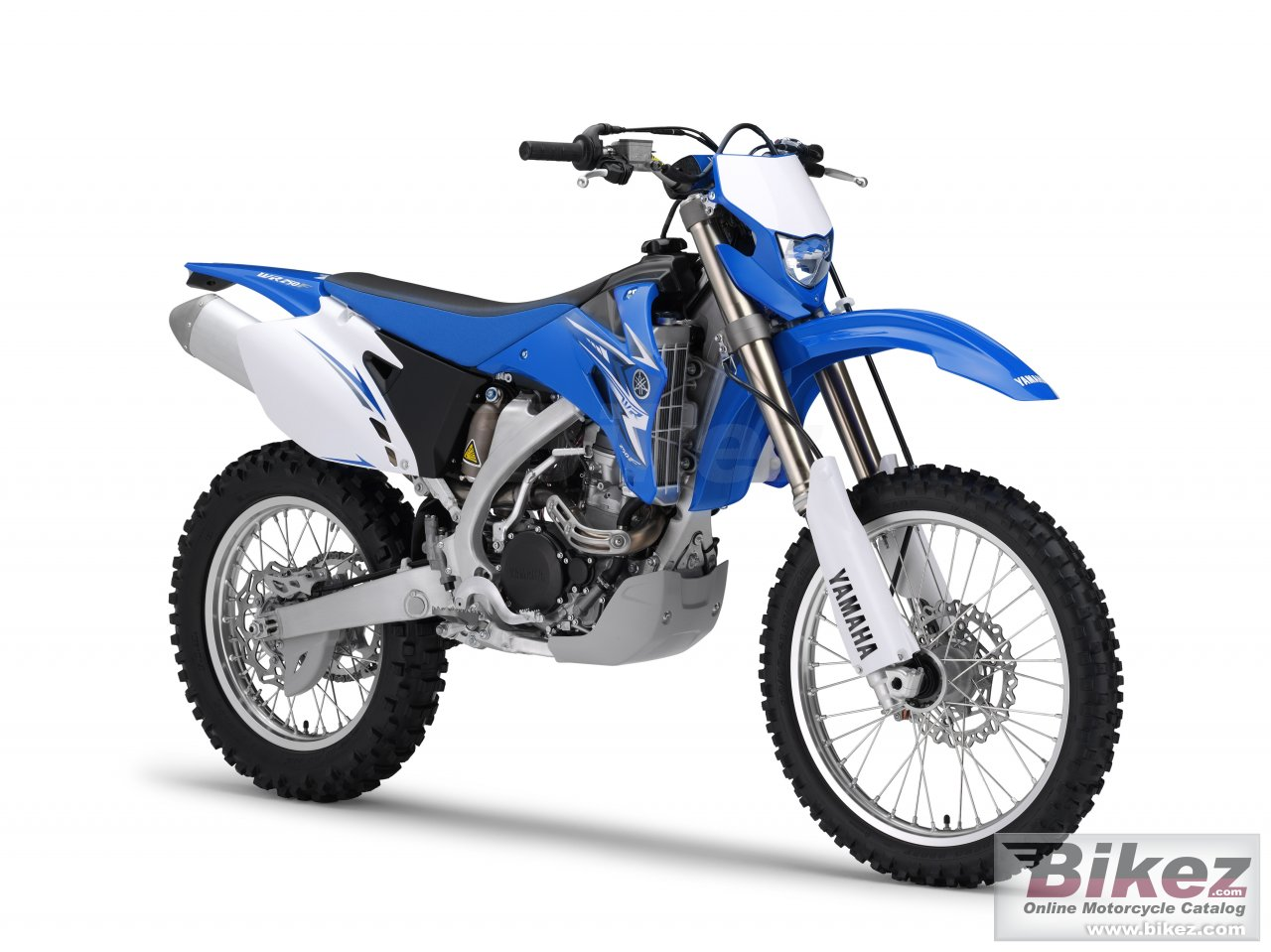 Big Yamaha wr250f picture and wallpaper from Bikez.com