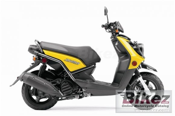 2009 Yamaha Zuma 125 photo