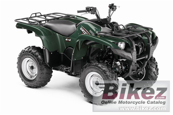 Big Yamaha grizzly 700 fi auto 4x4 picture and wallpaper from Bikez.com