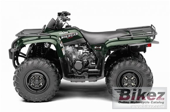 2009 Yamaha Big Bear 400 4x4 IRS