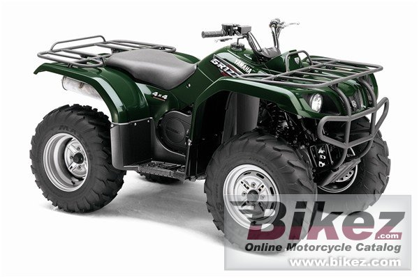 Big Yamaha grizzly 350 auto 4x4 picture and wallpaper from Bikez.com