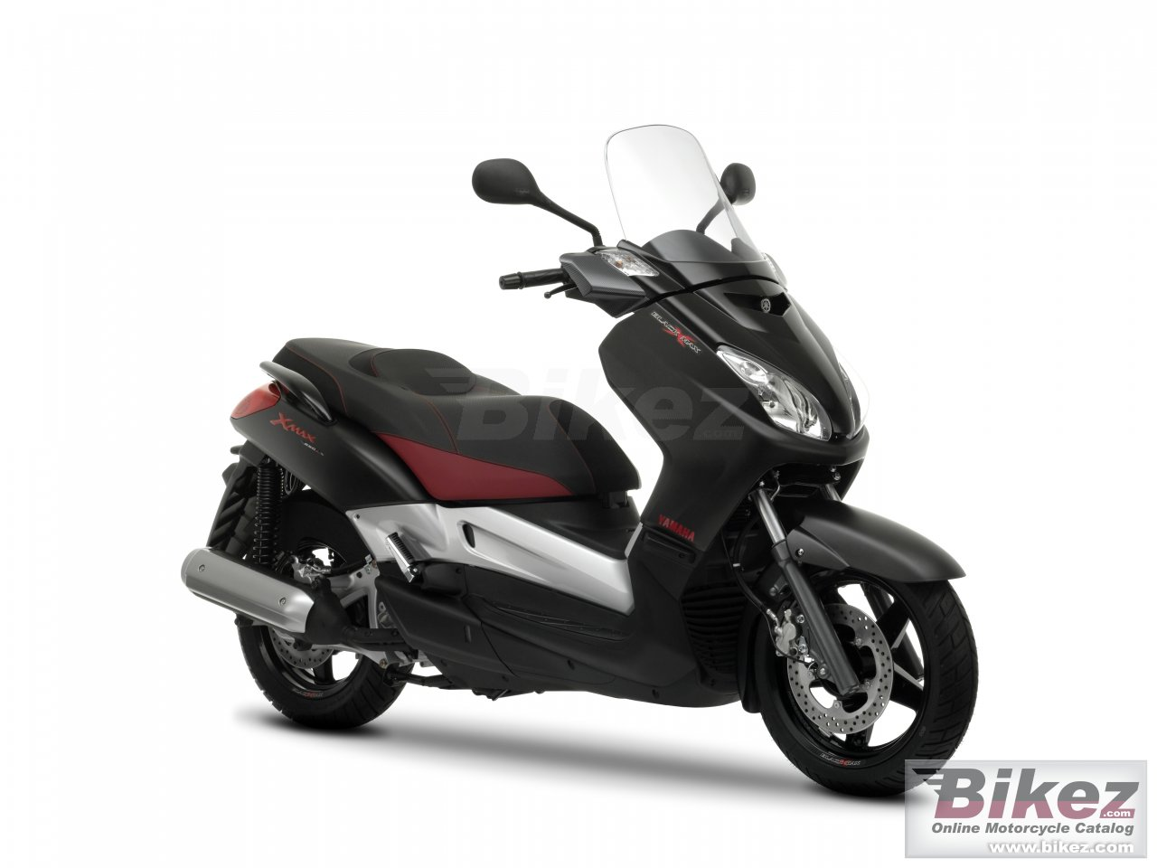 Big Yamaha black x-max 250 picture and wallpaper from Bikez.com