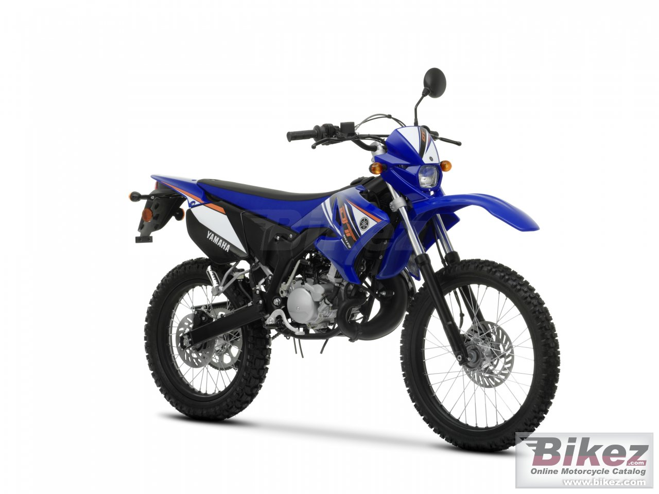 Big Yamaha dt50r picture and wallpaper from Bikez.com