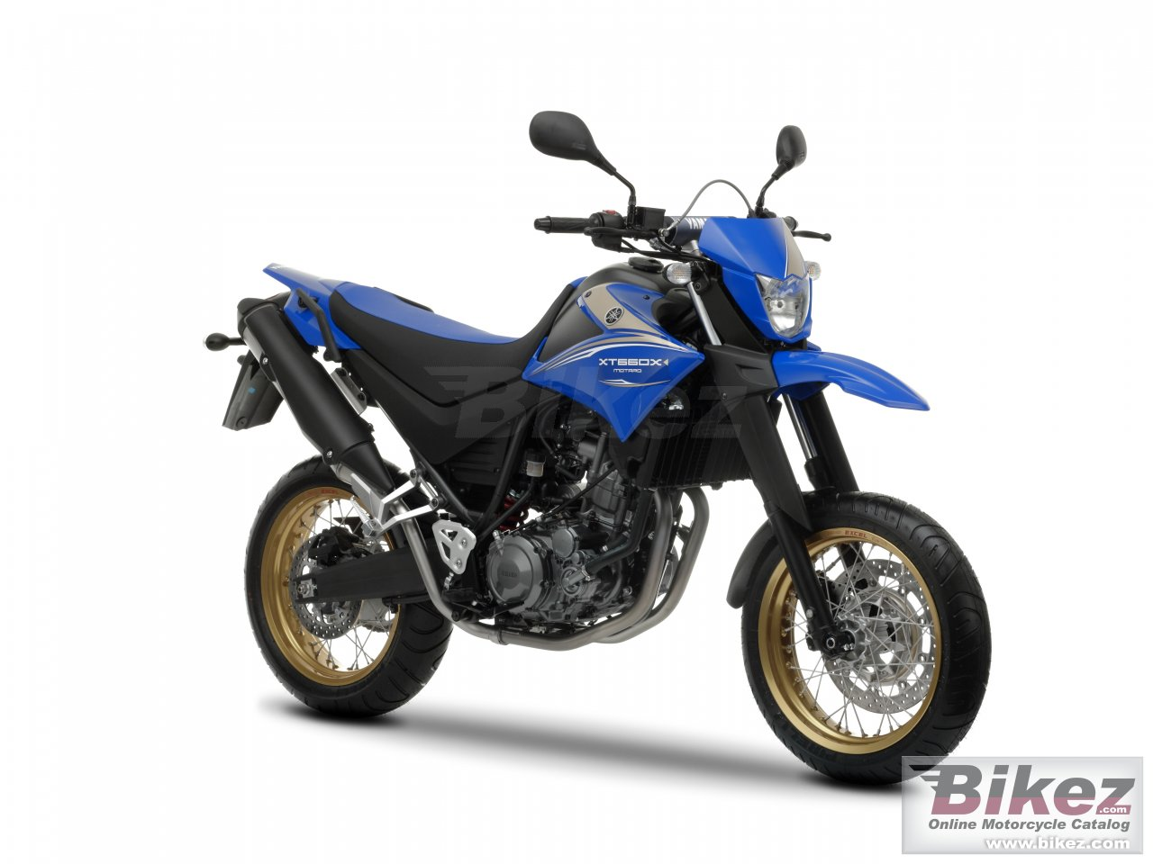 Big Yamaha xt660x picture and wallpaper from Bikez.com