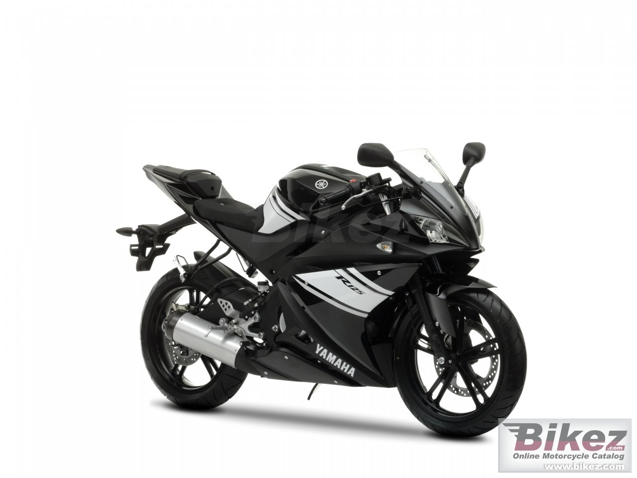Big Yamaha yzf-r 125 picture and wallpaper from Bikez.com