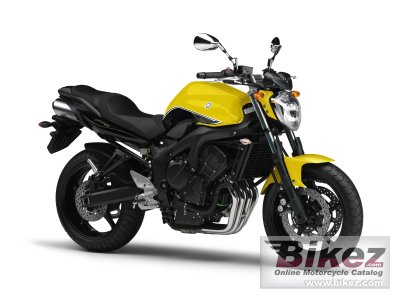 2009 Yamaha FZ6 S2 specifications and pictures