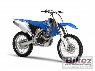 2009 Yamaha YZ450F specifications and pictures
