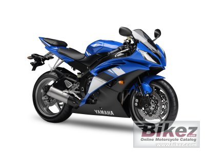 2009 Yamaha YZF-R6 specifications and pictures