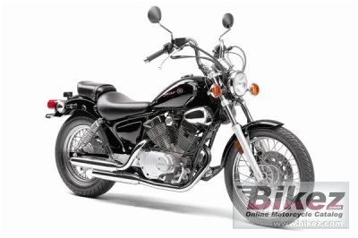 2010 Yamaha V Star 250 photo