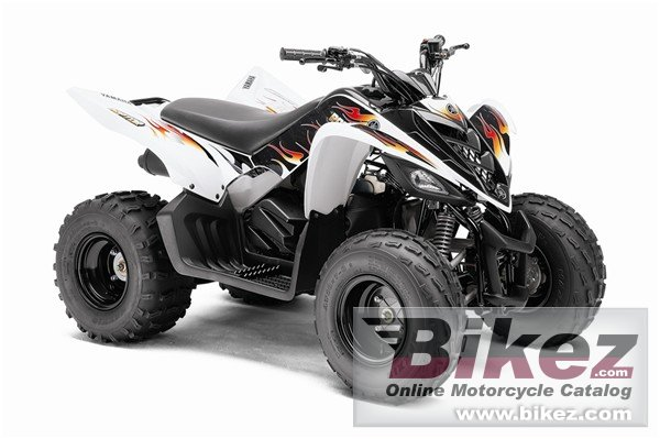 Big Yamaha raptor 90 picture and wallpaper from Bikez.com