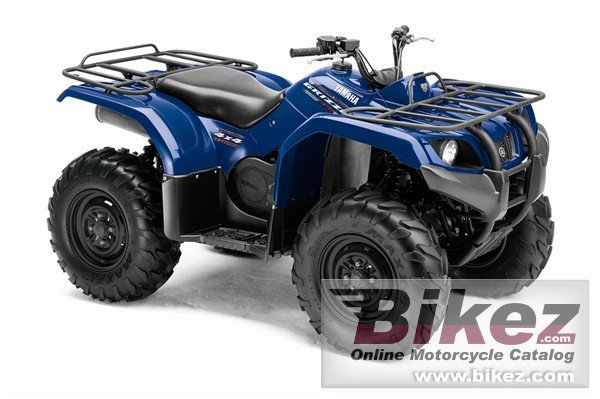 Big Yamaha grizzly 350 auto. 4x4 irs picture and wallpaper from Bikez.com