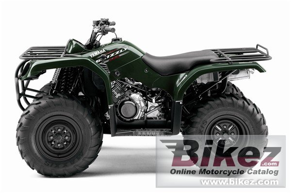 Big Yamaha grizzly 350 automatic picture and wallpaper from Bikez.com