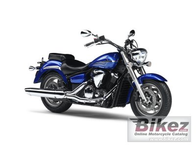 2010 Yamaha XVS 1300A Midnight Star photo