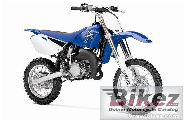 Big Yamaha yz 85lw picture and wallpaper from Bikez.com