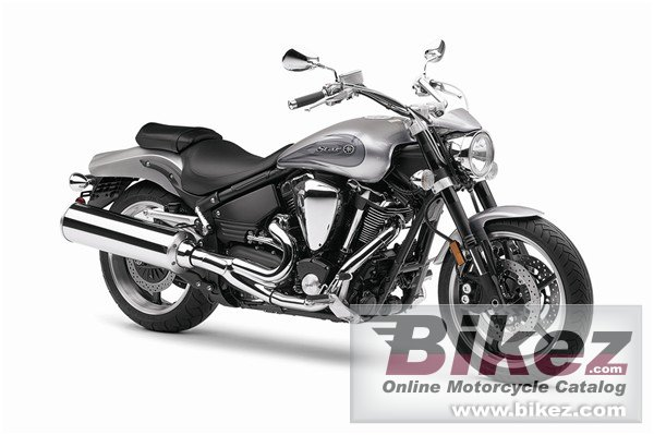 Big Yamaha star warrior picture and wallpaper from Bikez.com