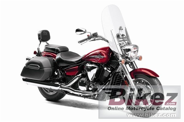 Big Yamaha v star 1300 tourer picture and wallpaper from Bikez.com