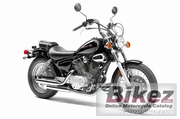 Big Yamaha v star 250 picture and wallpaper from Bikez.com