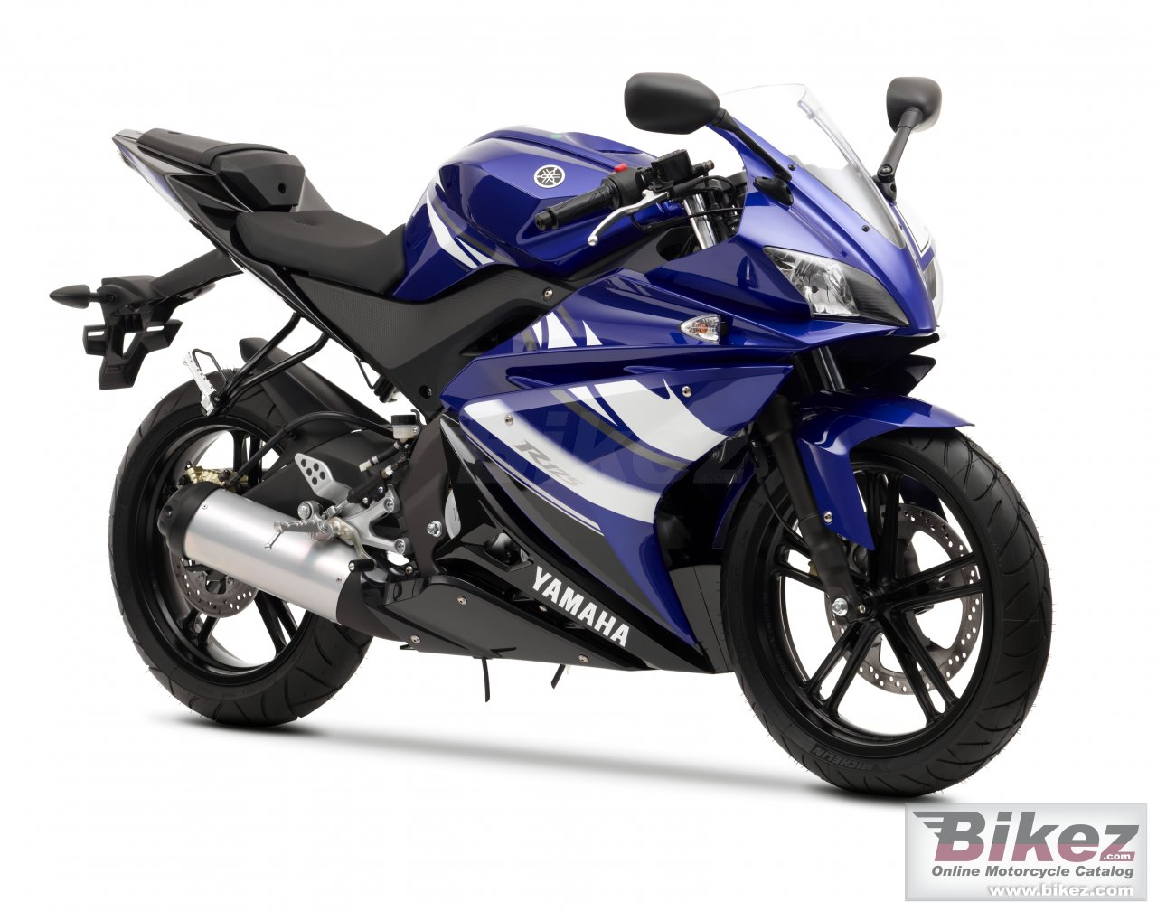 Big Yamaha yzf-r125 picture and wallpaper from Bikez.com