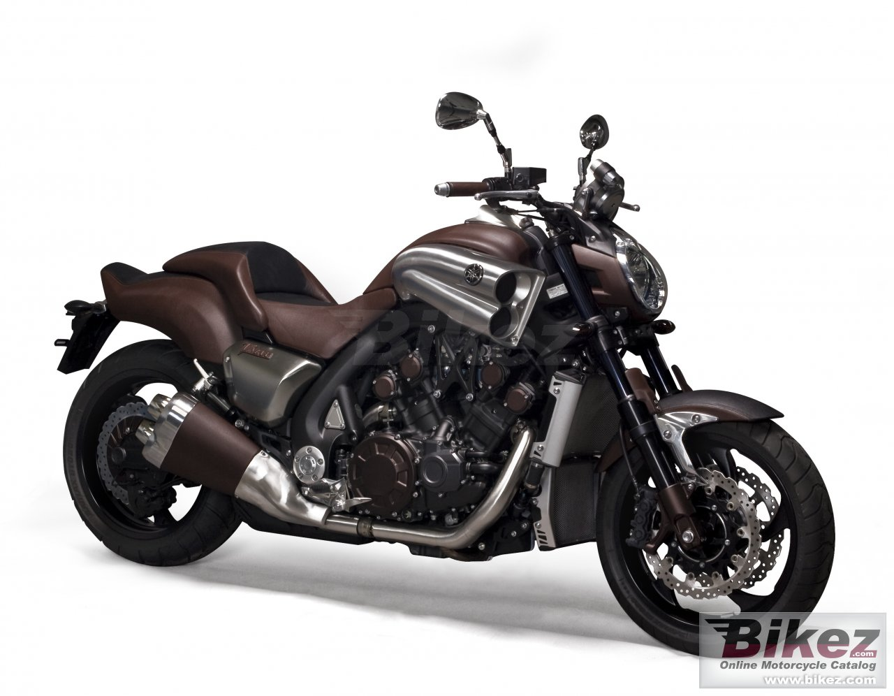 Big Yamaha v-max hermes picture and wallpaper from Bikez.com