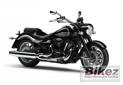 2011 Yamaha XV1900A Midnight Star photo