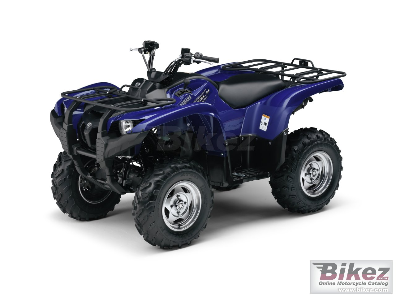 Big Yamaha grizzly 550 picture and wallpaper from Bikez.com