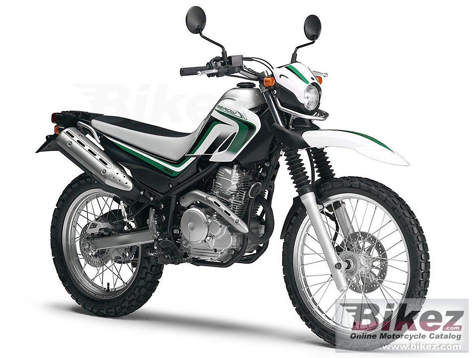 Big Yamaha serow 250 picture and wallpaper from Bikez.com