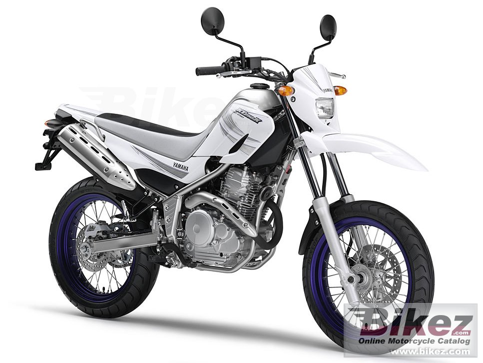 Big Yamaha xt250x picture and wallpaper from Bikez.com