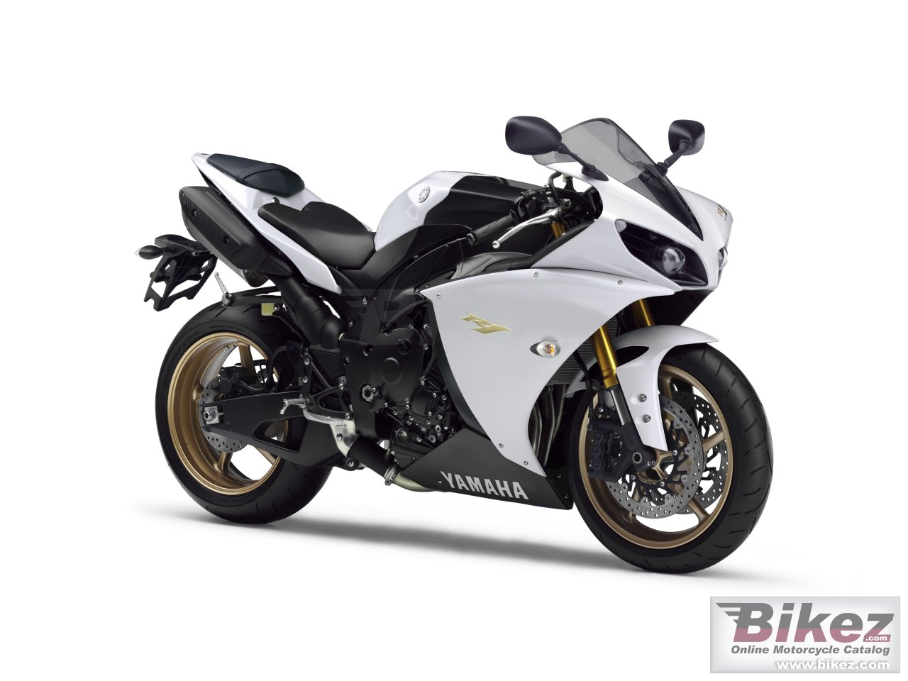 Big Yamaha yzf-r1 picture and wallpaper from Bikez.com