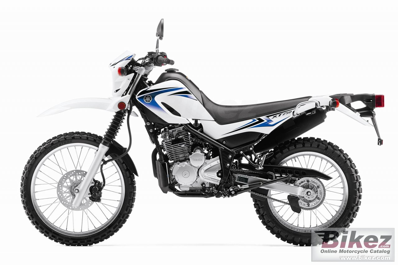 Big Yamaha xt250 picture and wallpaper from Bikez.com