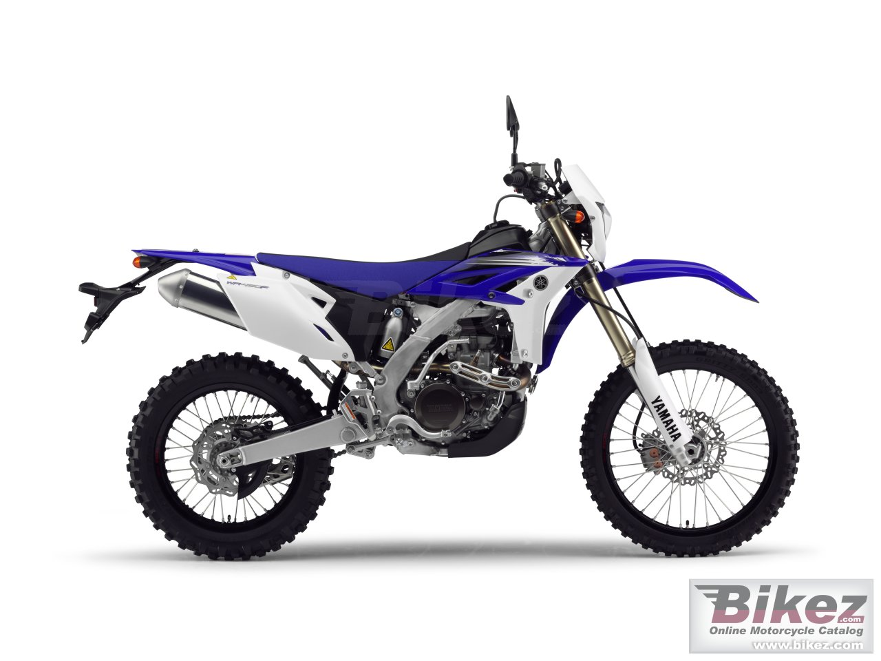 Big Yamaha wr450f picture and wallpaper from Bikez.com