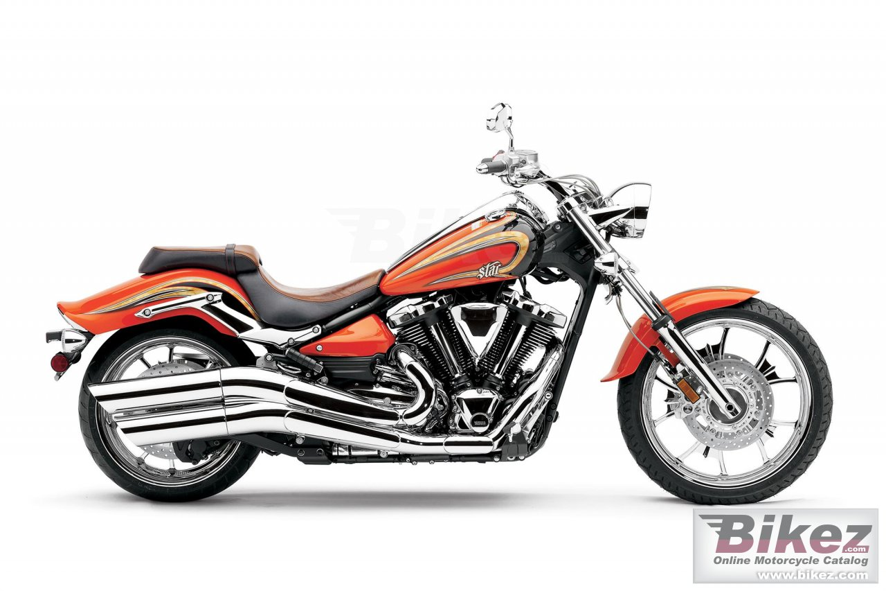 Big Yamaha star raider scl picture and wallpaper from Bikez.com