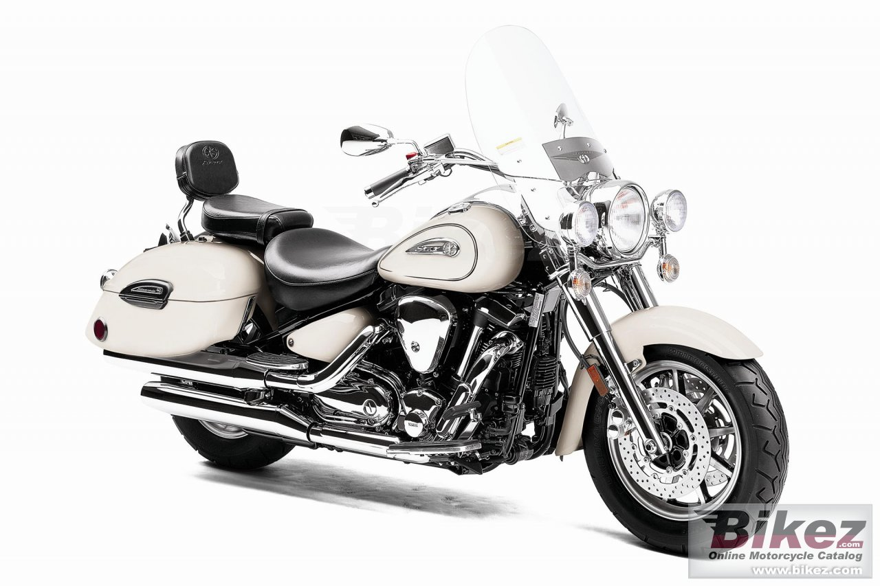 Big Yamaha road star silverado s picture and wallpaper from Bikez.com