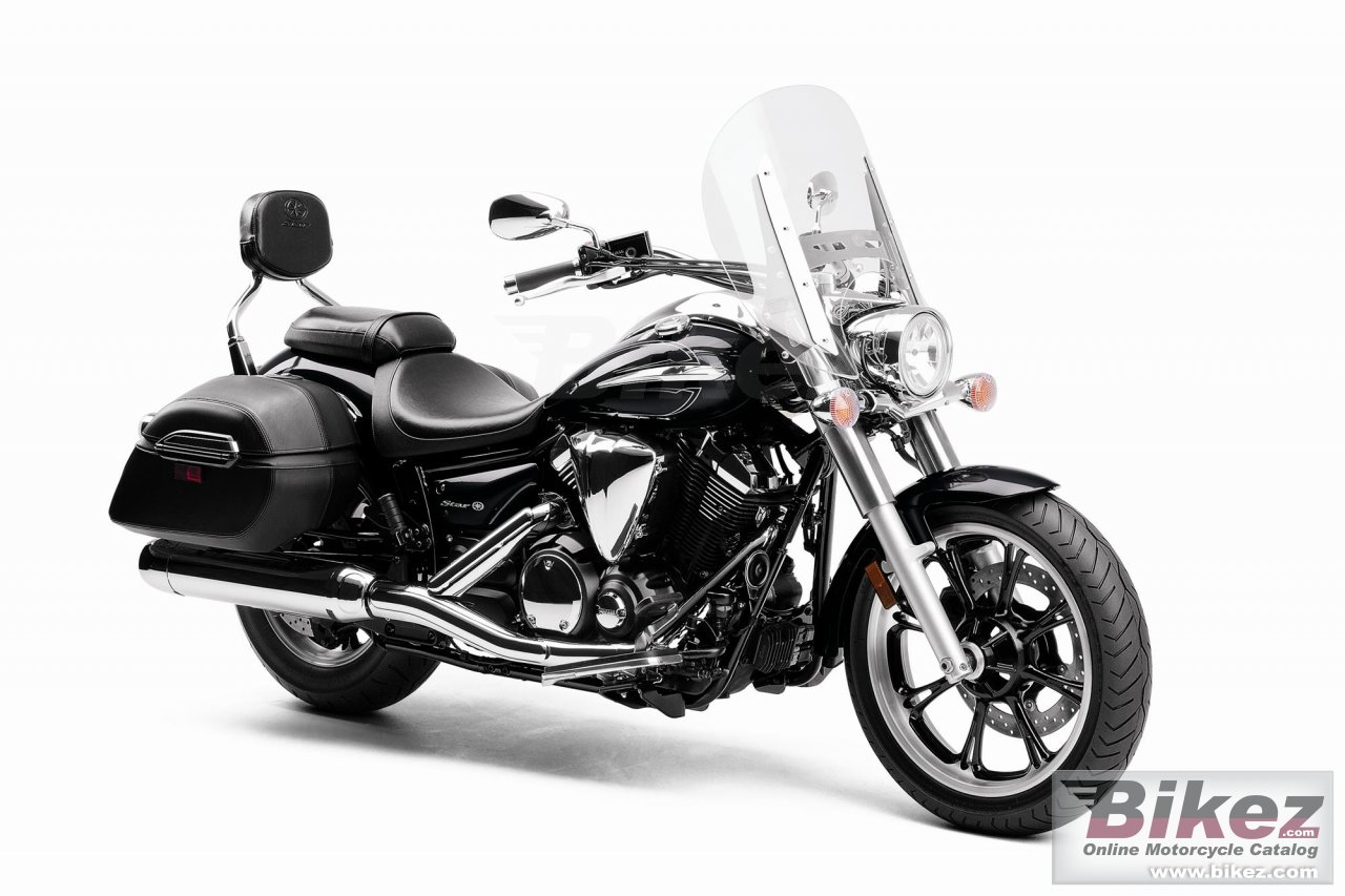 Big Yamaha v star 950 tourer picture and wallpaper from Bikez.com