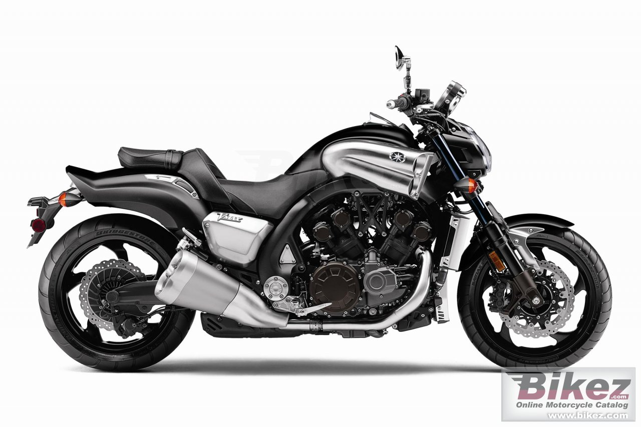 Big Yamaha star vmax picture and wallpaper from Bikez.com