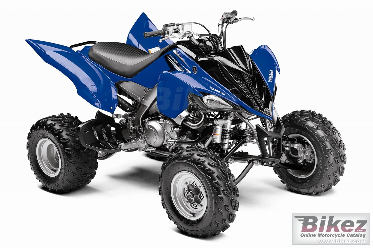 Big Yamaha raptor 700r picture and wallpaper from Bikez.com