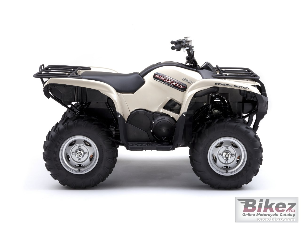 Big Yamaha grizzly 700 fi auto 4x4 eps se picture and wallpaper from Bikez.com