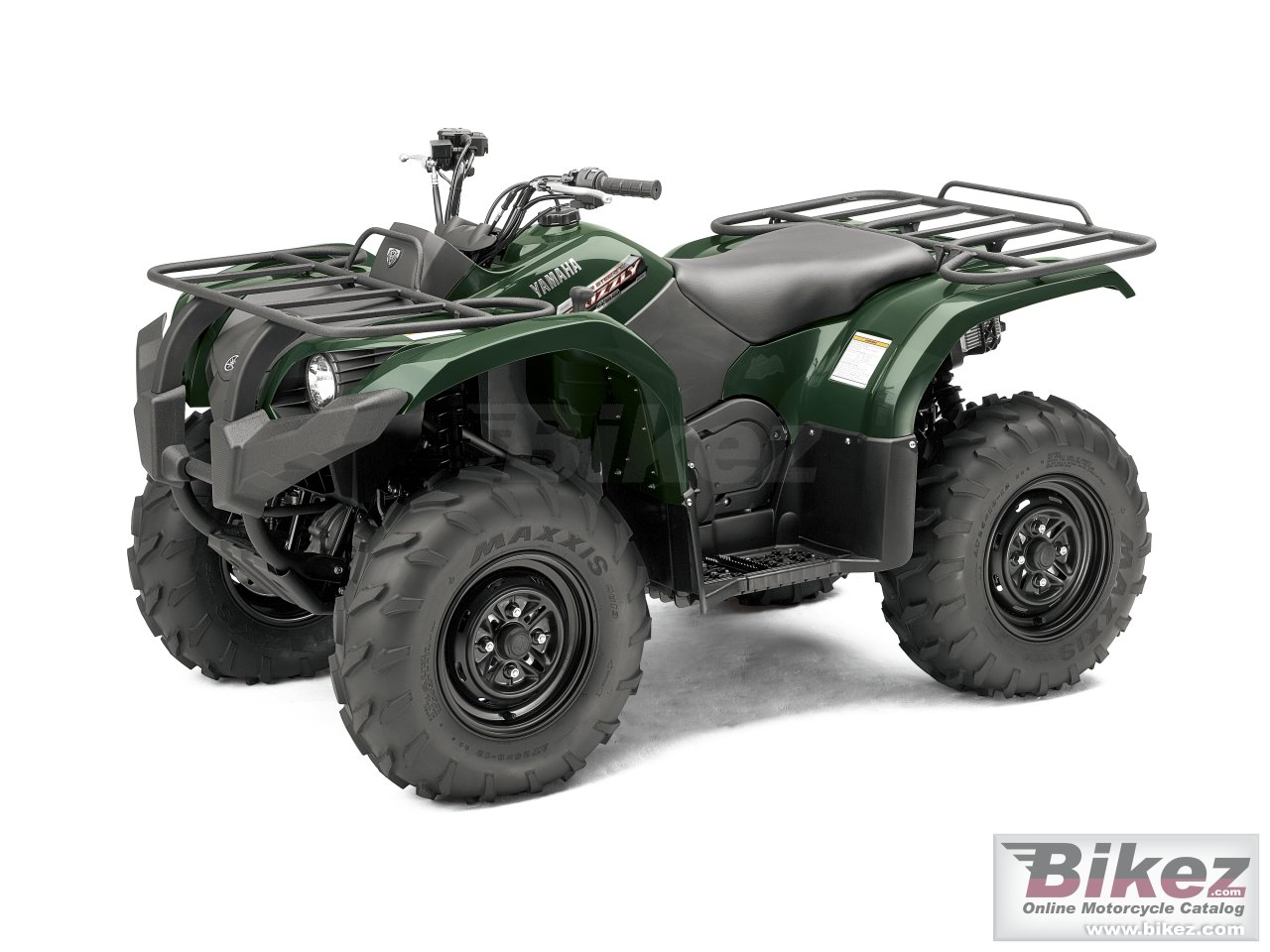 Big Yamaha grizzly 450 auto 4x4 eps picture and wallpaper from Bikez.com