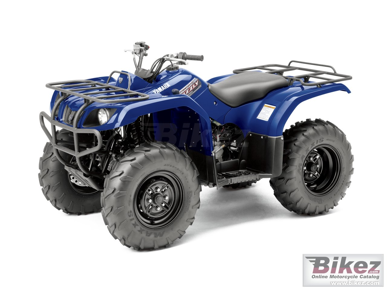 Big Yamaha grizzly 350 auto 4x4 irs picture and wallpaper from Bikez.com