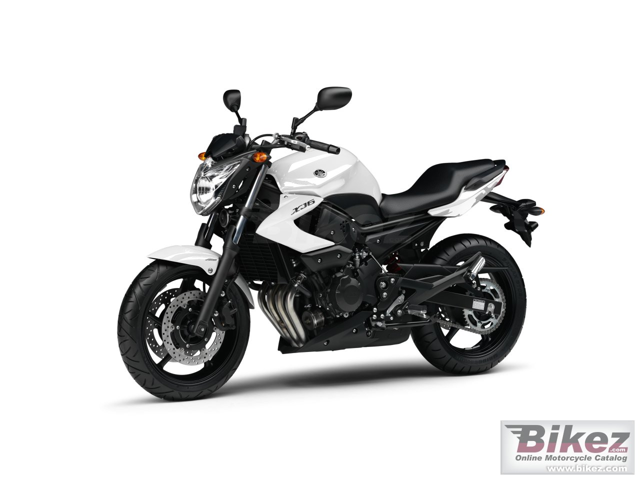 Big Yamaha xj6 picture and wallpaper from Bikez.com