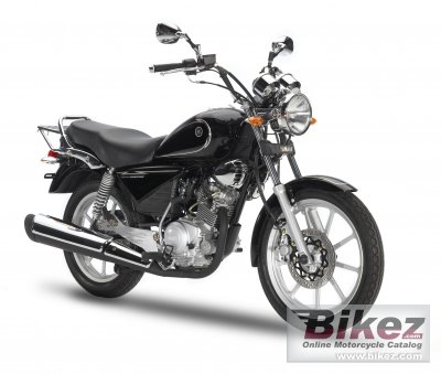 2012 Yamaha YBR125 Custom photo