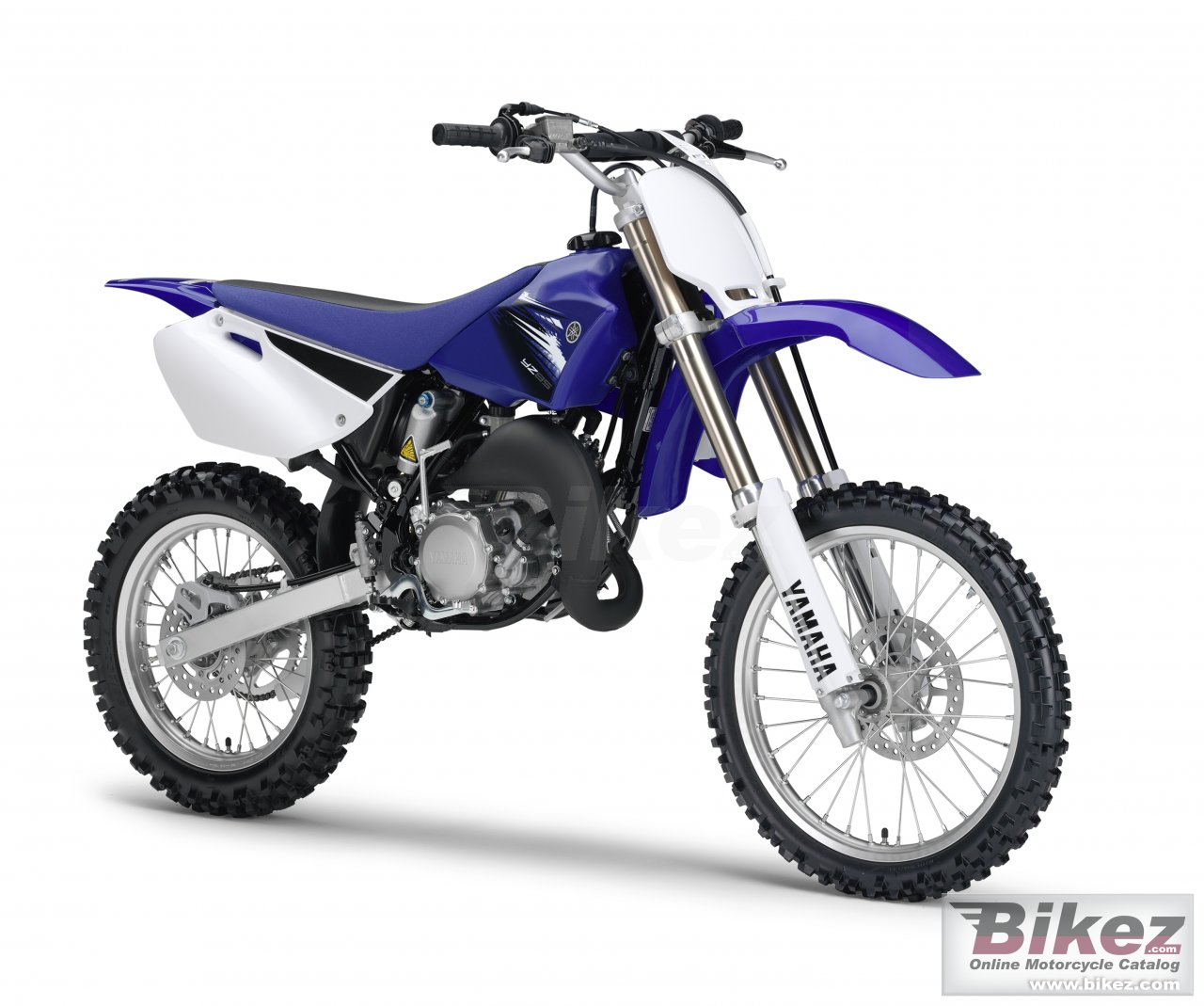 Big Yamaha yz85lw picture and wallpaper from Bikez.com