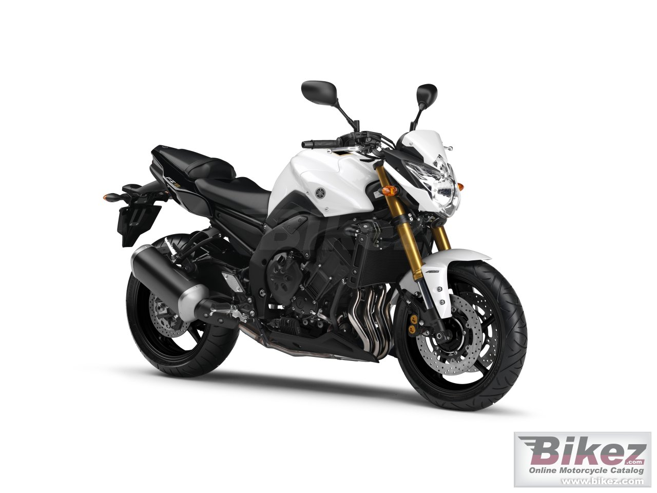 Big Yamaha fz8-n picture and wallpaper from Bikez.com
