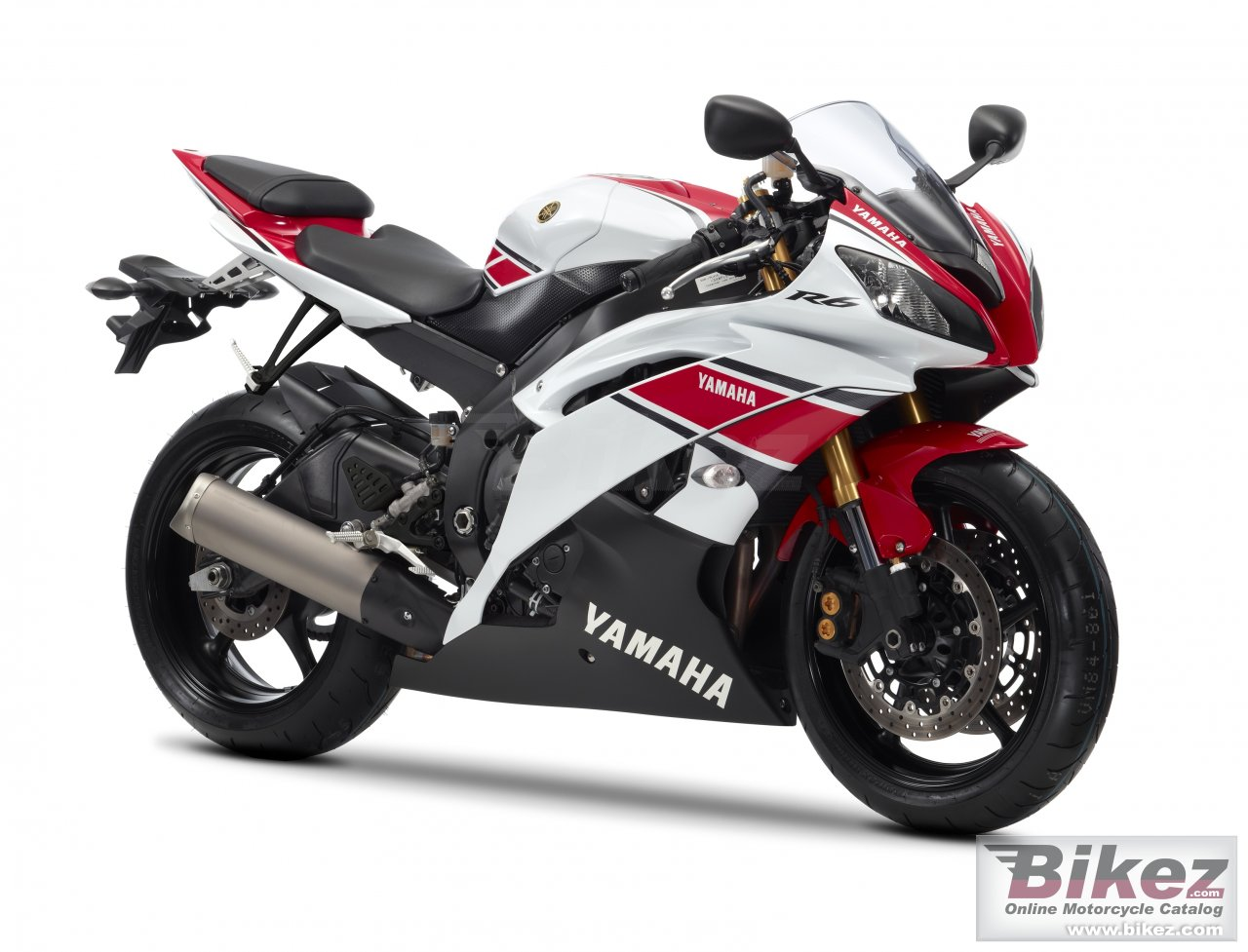Big Yamaha yzf-r6 wgp 50th anniversary picture and wallpaper from Bikez.com
